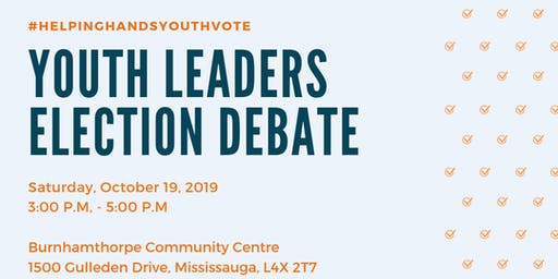 Youth Leaders Election Debate