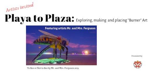 """Exploring, Making and Placing """"Burner"""" Art"""