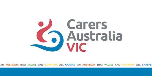Carers Victoria's Member Q&A Session 2019 - Dandenong