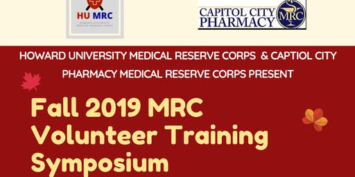 MRC Volunteer Fall 2019 Training Symposium