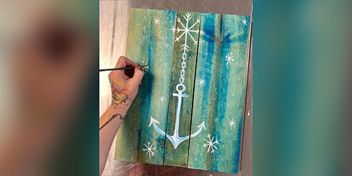 Anchor: Kent Narrows, Harris Crab House with Artist Katie Detrich!