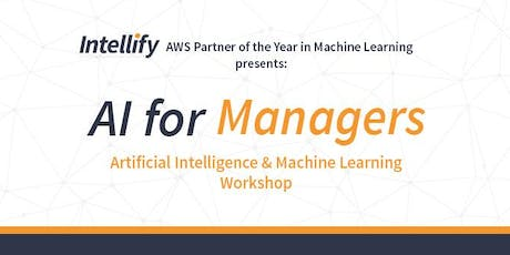 AI for Managers Workshop - November, Sydney 2019 tickets