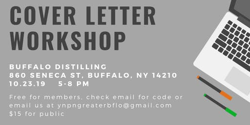 YNPN + Niagara University Cover Letter Workshop