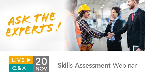 Skills Assessment: Live Q&A with experts