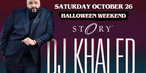 DJ KHALED - SATURDAY - Halloween Weekend Party - Miami Beach