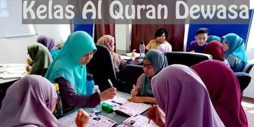 TRIAL CLASS : MODUL ASAS AL QURAN (ALIF-BA-TA) -DEWASA