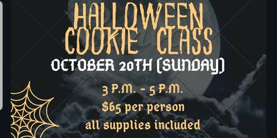 Copy of Halloween Cookie Class