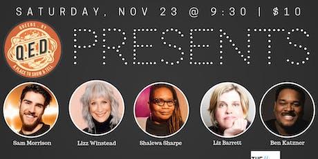 QED Presents: Lizz Winstead, Shalewa Sharpe, Ben Katzner & Liz Barrett tickets