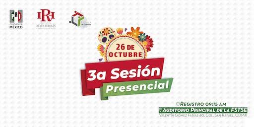 Tercera Sesión Presencial de la Escuela de Cuadros CDMX