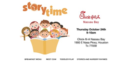 Storytime at Chick-fil-A Nassau Bay