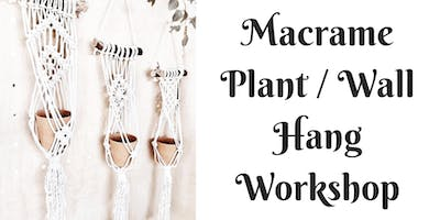 Macrame Plant/Wall Hang Workshop at Barrels and Branches