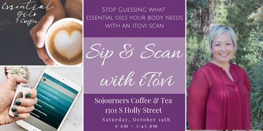 Sip & Scan with itovi