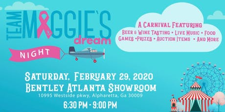 Team Maggie's Dream Night tickets