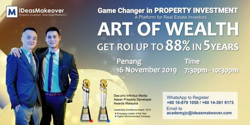 ART OF WEALTH (AOW) SNEAK PEEK - PENANG