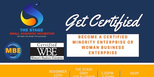 Woman Owned and Minority Business Enterprise Certification Workshop