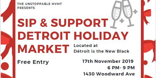 Sip & Support: Detroit Holiday Market