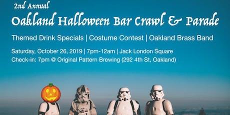Oakland Halloween Bar Crawl (Drink Specials, Costume Contest & Parade!) tickets