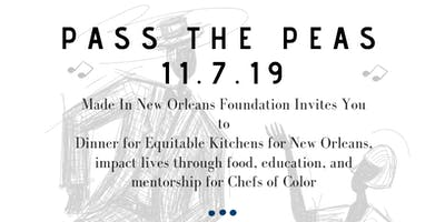 Pass The Peas: MiNO Benefit Dinner