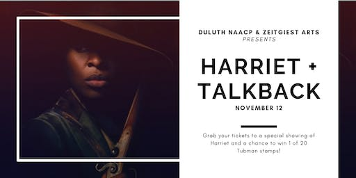 Harriet Movie Showing & Talkback