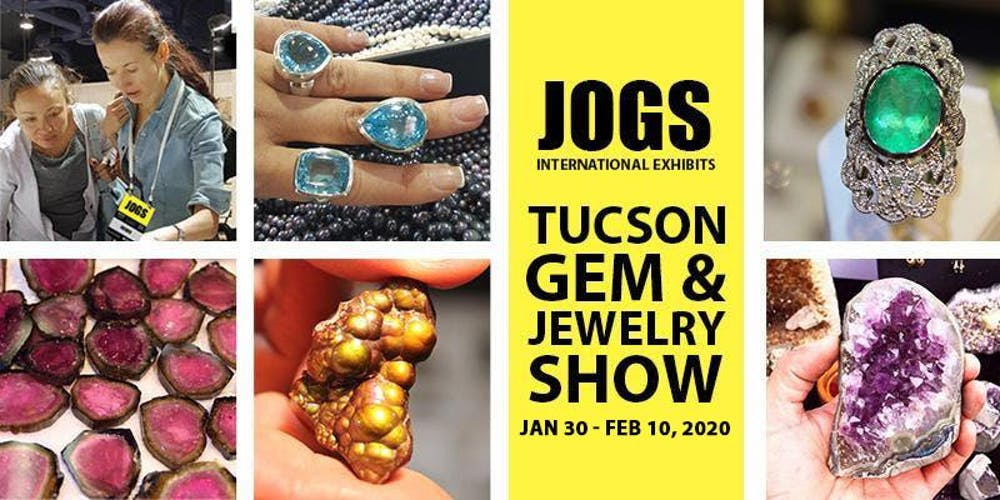 Tucson Mineral Show 2020.Jogs Tucson Gem And Jewelry Show Winter 2020