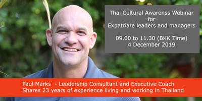 Winning With Thais - Cultural Awareness Webinar  for Expatriates