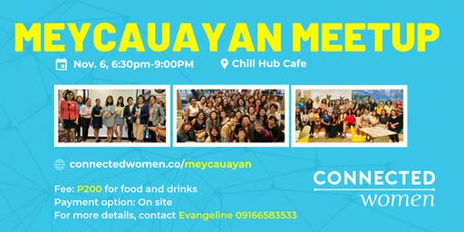 #ConnectedWomen Meetup - Meycauayan (PH) - November 6