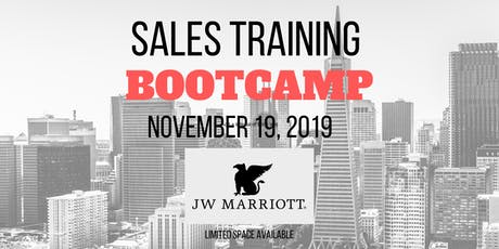 Sales Bootcamp - Master The #1 Skill In Business - Applied Persuasion! tickets