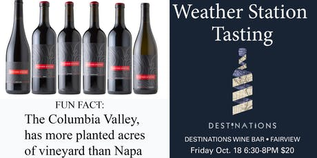 Weather Station Wine tasting tickets