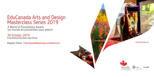 EduCanada Arts and Design Masterclass Series 2019