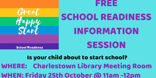 School Readiness Information Session
