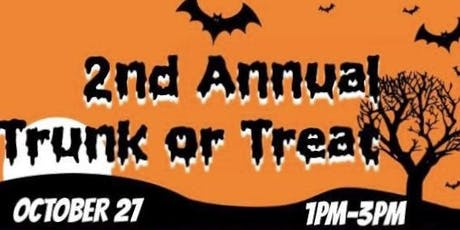Trunk or Treat!!!  A FREE Halloween event! tickets