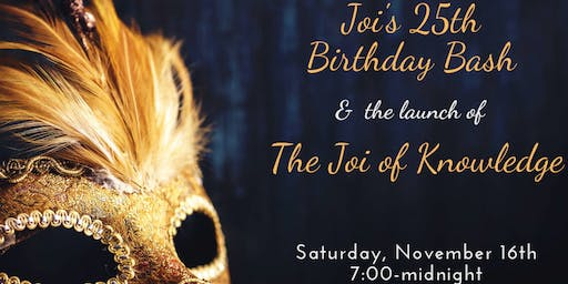 Joi's 25th Masquerade Party