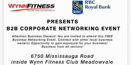 Business to Business Networking Event - Hosted by RBC tickets