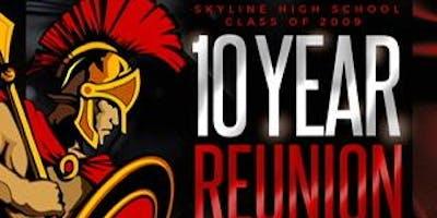 Skyline High School c/o 2009 10 year reunion