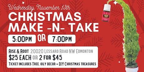 Christmas Make - n - Take  tickets