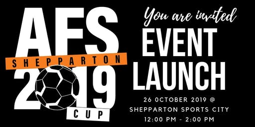 AFS Shepparton Cup 2019 - Invite Only Event Launch