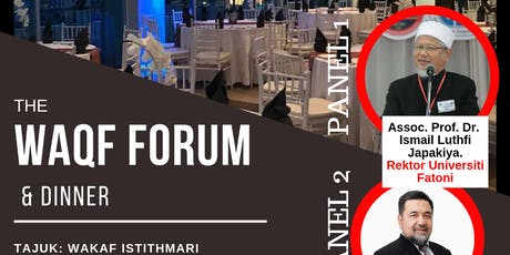 THE WAQF FORUM & DINNER tickets