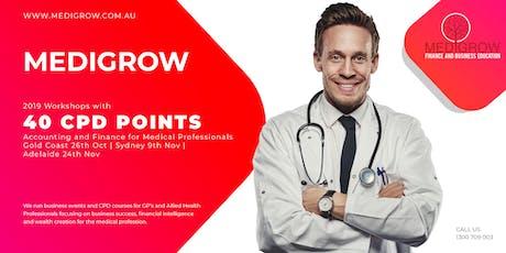 Medigrow Business Accelerator tickets