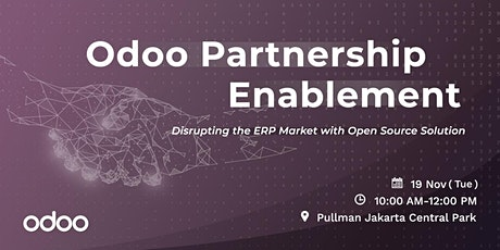 Odoo Partnership Enablement - Bangkok tickets