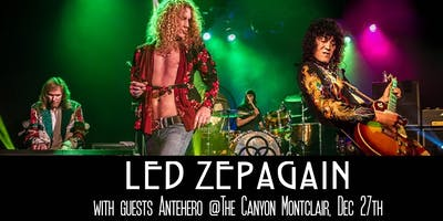 Led Zepagain: Tribute to Led Zeppelin with guest Antehero