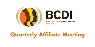 BCDI-Atlanta Quarterly Affiliate Meeting: Atlanta, GA - October 20, 2020