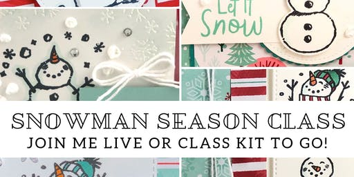 Snowman  Season Class