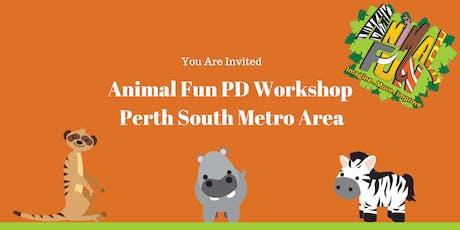 Animal Fun PD Workshop Perth South tickets