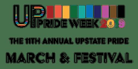 The 11th Annual Upstate Pride SC March & Festival! tickets