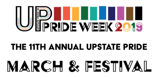 The 11th Annual Upstate Pride SC March & Festival!