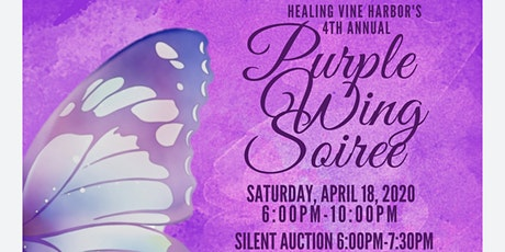 4th Annual Purple Wing Soirée  tickets