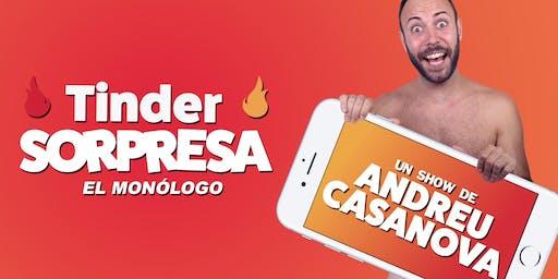Tinder Sorpresa, por Andreu Casanova | Especial 28 aniversario Clan Cabaret