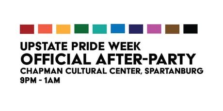 The Official Upstate Pride Week After-Party! tickets