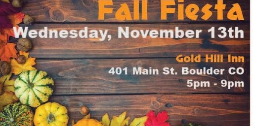 Gold Hill School Annual Fall Fiesta Fundraiser