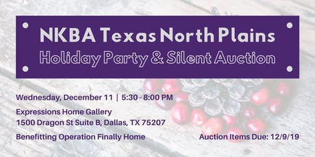 NKBA Holiday Party Donation Form tickets